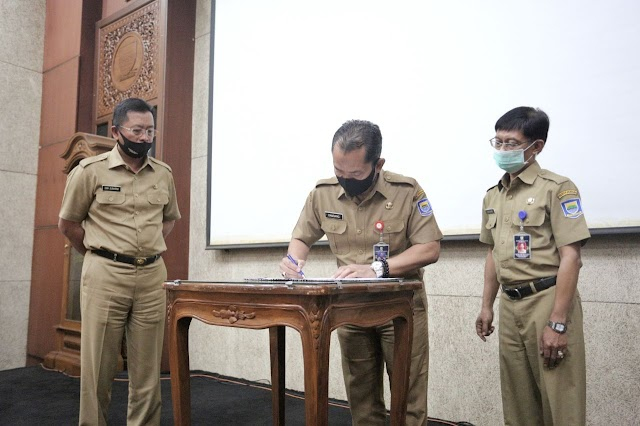 Sekda Kota Bandung Minta Bakesbangpol Cepat Tanggap Terhadap Isu