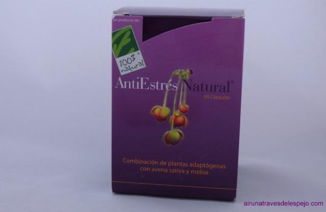 antiestrés natural cien por cien complemento alimenticio