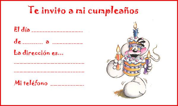 Modelos De Tarjetas De Invitación Para Cumpleaños De Niña
