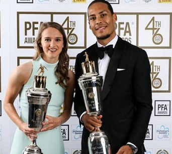 van Dijk and Miedema win PFA Player of the Year awards 2018-19: Full Winners List.