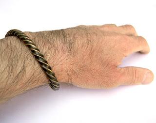 купить витой браслет женский металлический браслет на руку бронзовый скифский браслет
