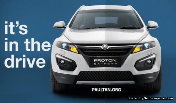 Proton Extrema SUV