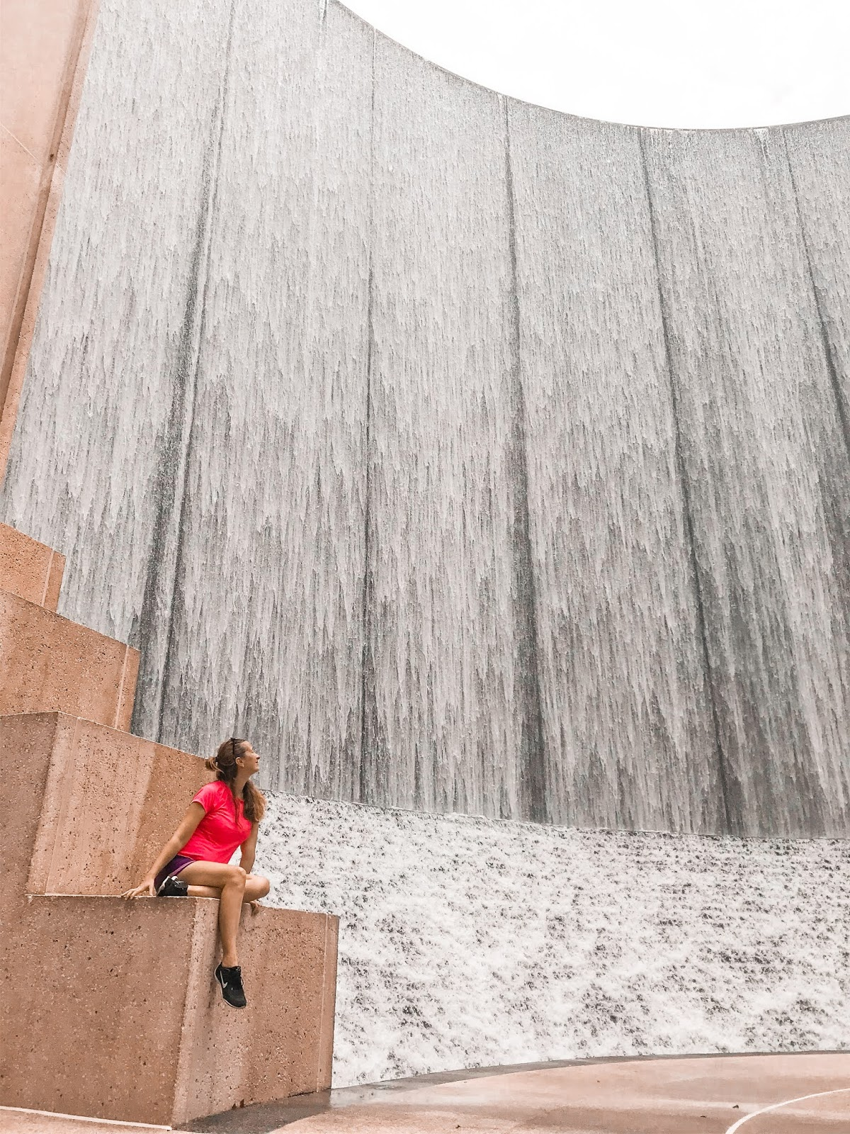 Gerald D. Hines Waterwall Park in Houston