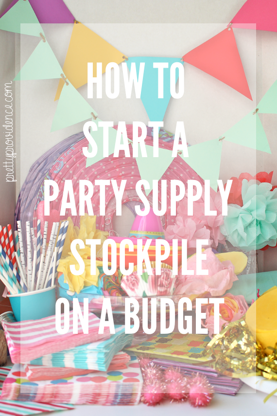 I was going to name this post how to hoard party supplies on a budget but  I was afraid that word might cause people to feel negative, and think that  I ...