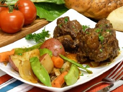 Country Oxtails Dinner
