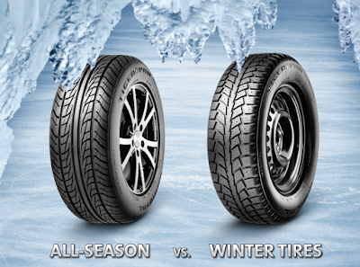 The Difference Between Winter Tires and All-Season Tires
