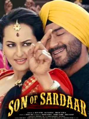 Son of sardaar official title song feat. Ajay devgan and sonakshi.