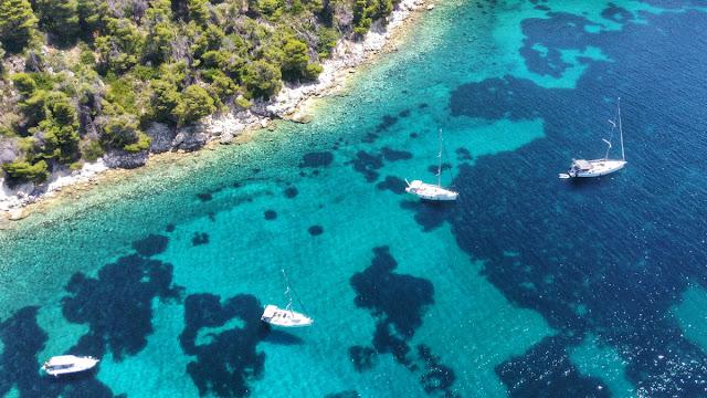 alonissos drone mare