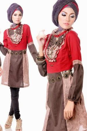 10 Gambar Model Baju Muslim Gaul Masa Kini