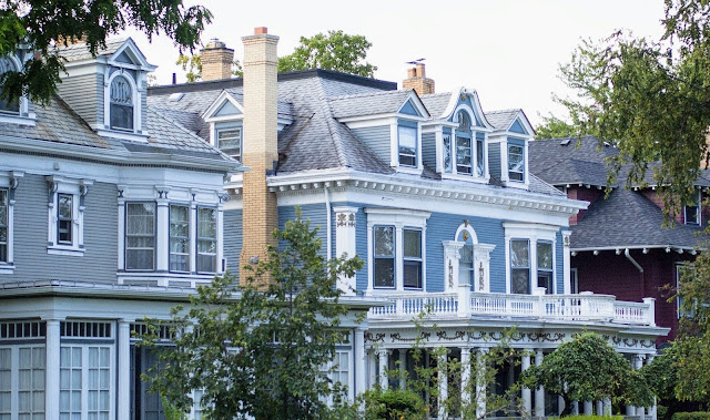 Buffalo Architecture: Mansions in Elmwood Village