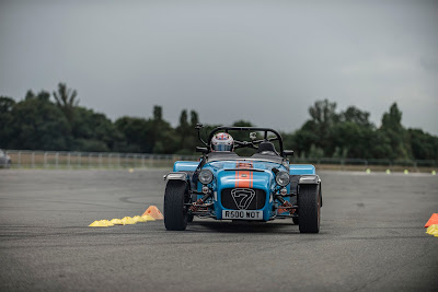 Frontal view of my Caterham R500 at the Supercar Event, Dunsfold - Picture taken by George F Williams