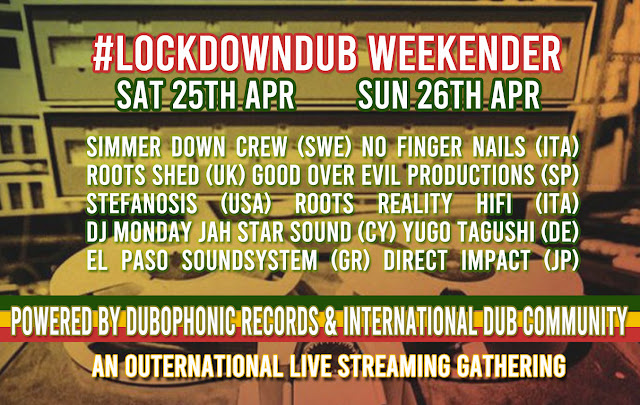 Lockdown Dub Weekender powered by Dubophonic Records