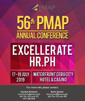 EXCELLERATEHR.PH: Elevating and Accelerating Filipino People Management during the 56th PMAP Annual Conference