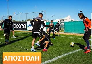 19 ποδοσφαιριστές στην Αποστολή του ΑΠΟΕΛ με την Ανόρθωση (#5η)