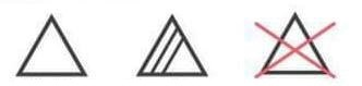 Simbolurile de pe etichetele textilelor