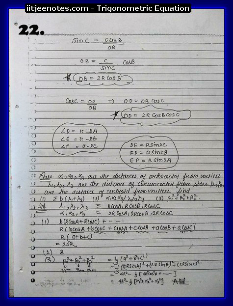 trigonometry equation cbse2