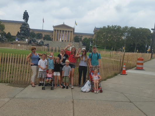 #artsplash our Grand Adventures: Philadelphia Museum of Art