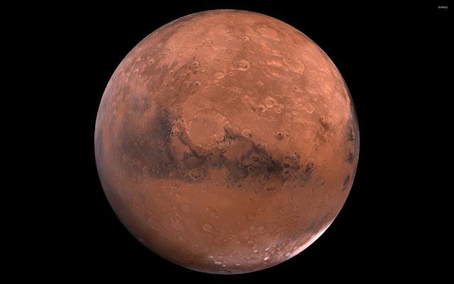 Mars Planet HD Wallpaper