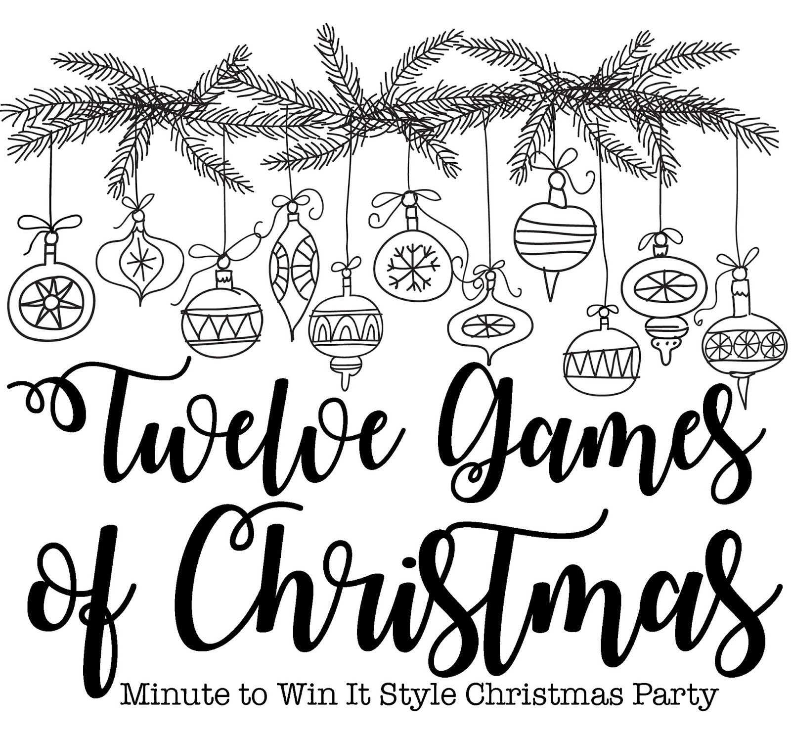 Momfessionals 12 Games Of Christmas