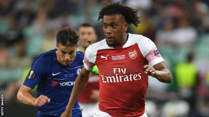 Alex Iwobi: Everton sign Arsenal forward in five-year deal worth up to £34m