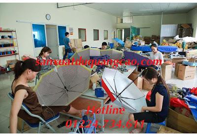 Xưởng sản xuất dù cầm tay Thiên Mã