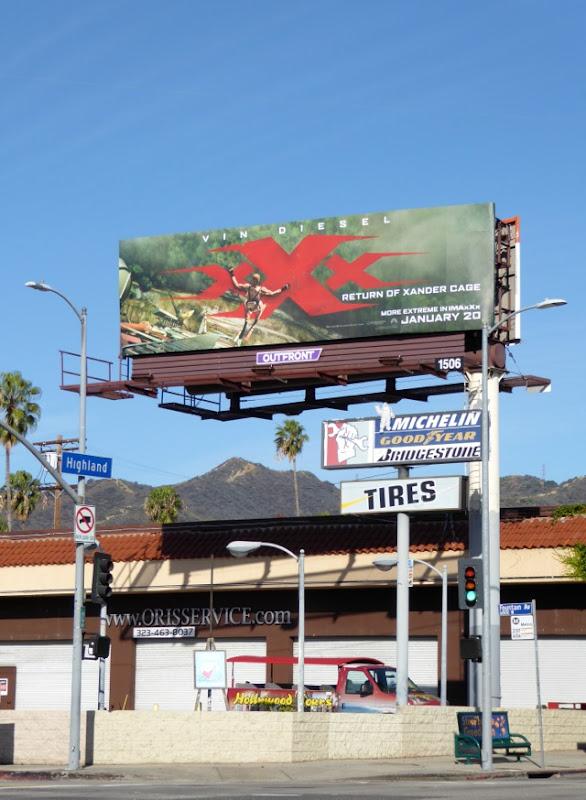 XXX Return Xander Cage billboard