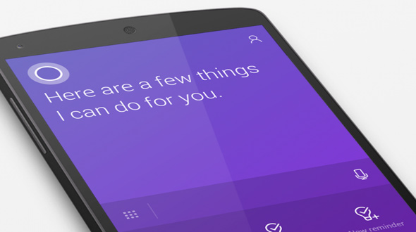 Cortana on Android and iOS