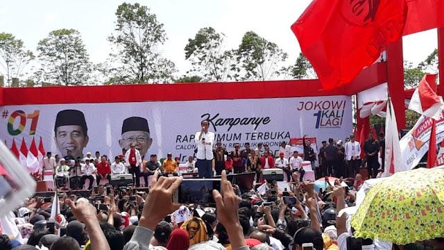 Jokowi: Kalau Suara Saya di Kalbar Tak Lebih 60 Persen, Hati-hati