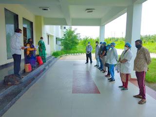 दो दिनों में 7 लोग कोरोना संक्रमण से पूर्णत: स्वस्थ होकर अपने घरों को लौटे