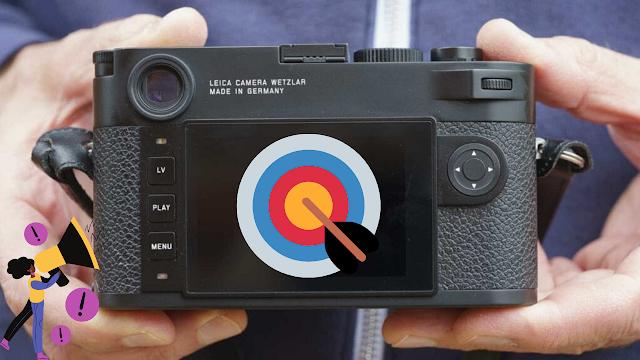شكل الكاميرا M10-R