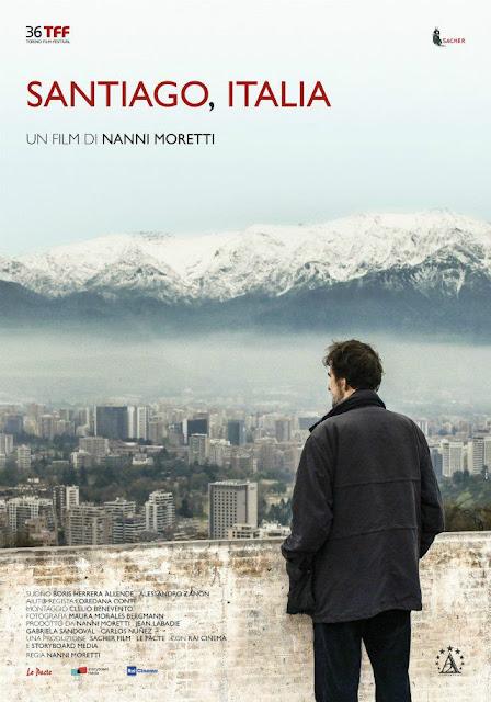 Santiago, Italia Poster Film