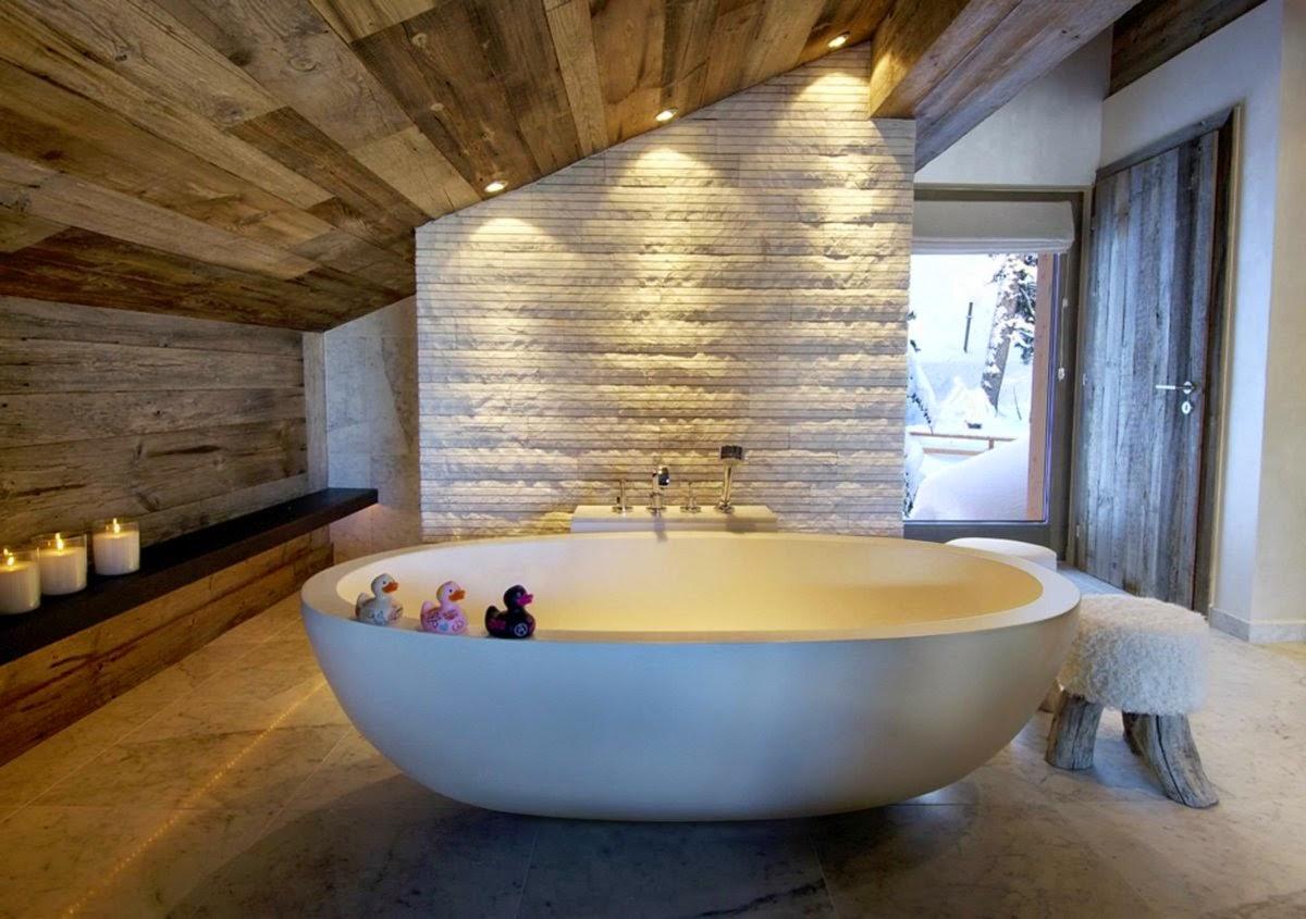 Puertas De Baño Rusticas:30 ideas de decoración para baños rústicos pequeños