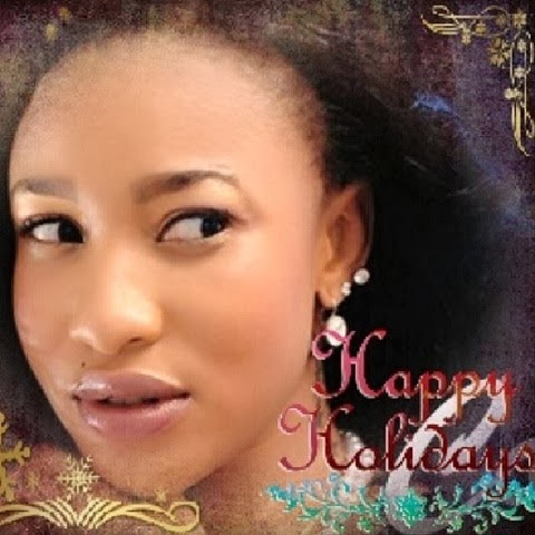 tonto dikeh christmas greetings cards