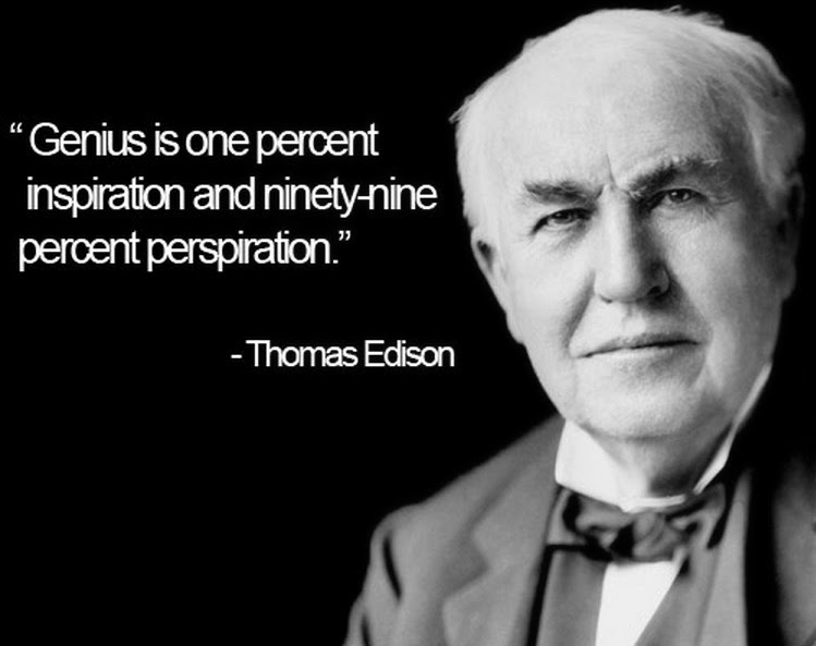 Thomas Edison's Quote