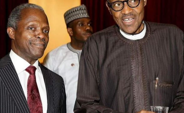 osinbajo pray for buhari