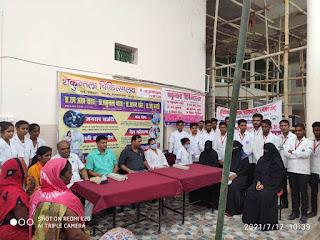 #JaunpurLive : शकुंतला अस्पताल में आयोजित स्वास्थ्य शिविर में 639 मरीजों का हुआ उपचार