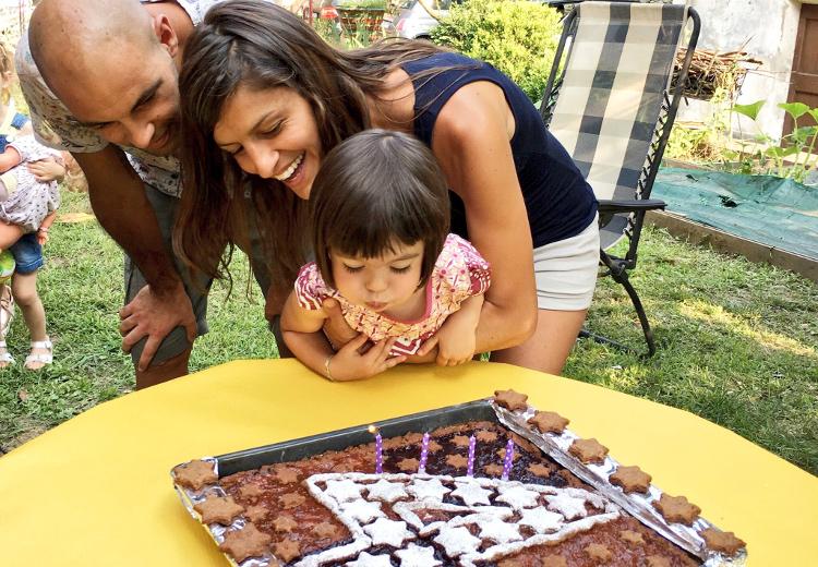 festa di compleanno di Beatrice