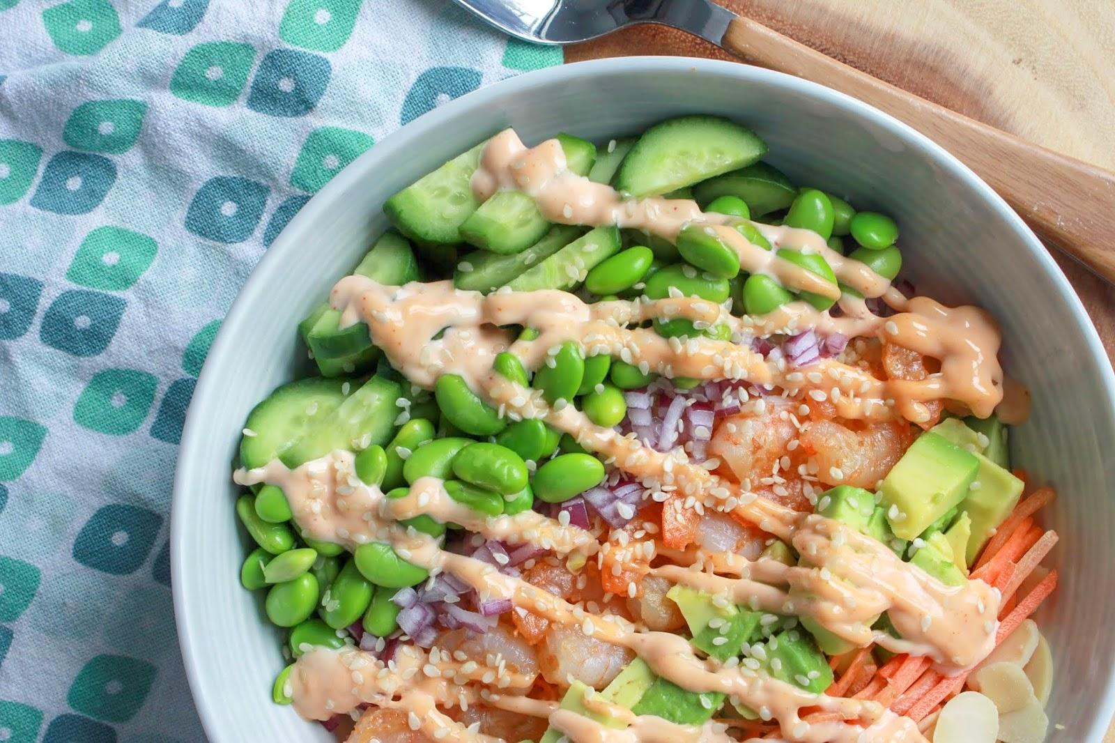 Build Your Own Buddha Bowl - Shrimp Buddha Bowl Recipe