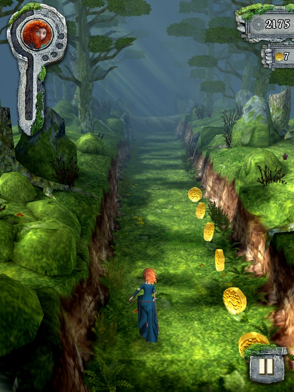 gold temple run game