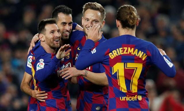 برشلونة يكسر رقم ريال مدريد