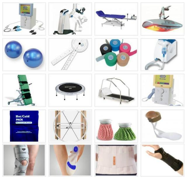 Jenis alat fisioterapi