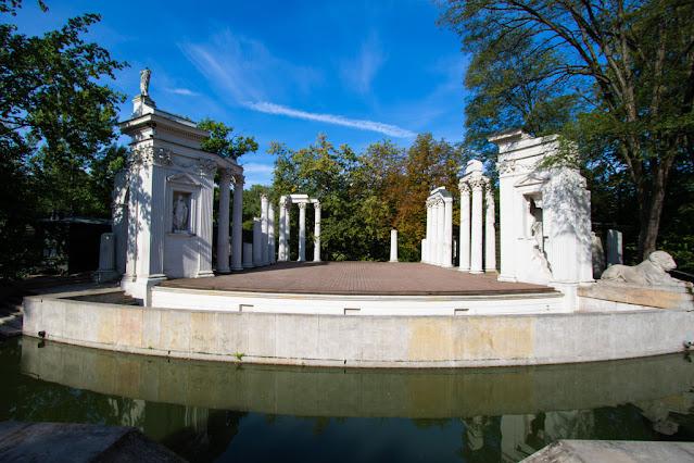 Anfiteatro-Parco Lazienki-Varsavia