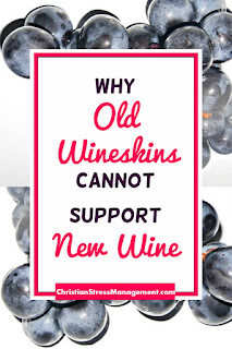 Why old wine skins cannot support new wine