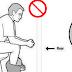 A maneira em que você senta na bacia sanitária está ERRADA, veja a posição correta segundo os médicos