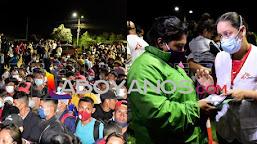 Miles de migrantes hondureños se reúnen para ir hacía a EE.UU.