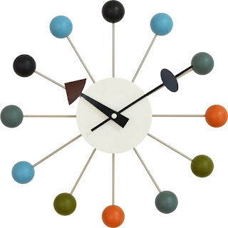 Generic Product Ball Clock pop color diameter 33cm Japanese No Battery