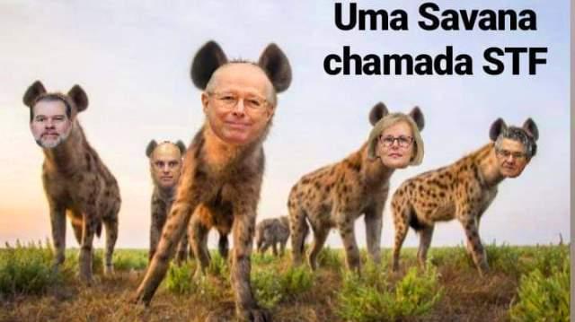 Após Bolsonaro provocar STF com vídeo, gabinete do ódio lança nova ofensiva contra ministros