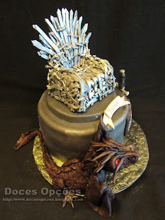 throne swords game of thrones birthday cake