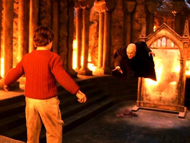 Куиръл и Хари в Хари Потър и философският камък