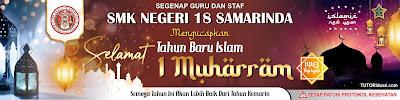 Banner 1 Muharram 1443 H